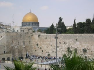 Jerusalem - Dome of the Rock and the Western Wall
