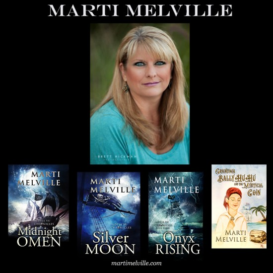 Marti Melville with Books square.jpg