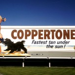 The original Coppertone Girl